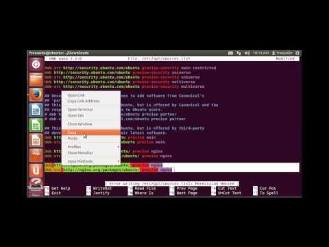 How to install Nginx on Ubuntu 12.04