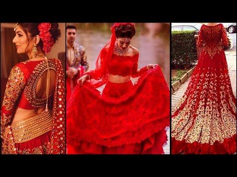 Red Pakistani Wedding Dresses