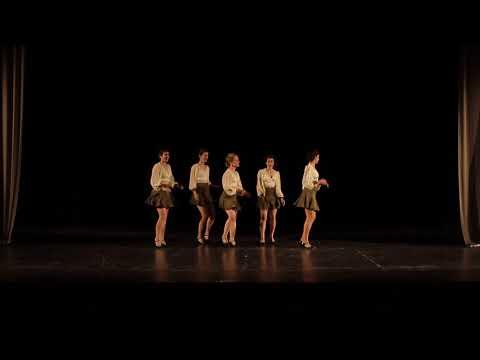 Graduation 2018 - Rhythm Hoppers Chorus Line & Sissy Pintela