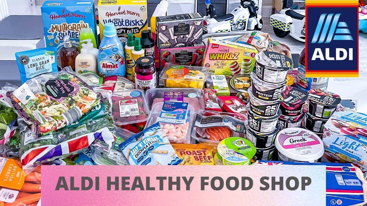 Aldi Food Shop. Loads of healthy low calorie finds.
