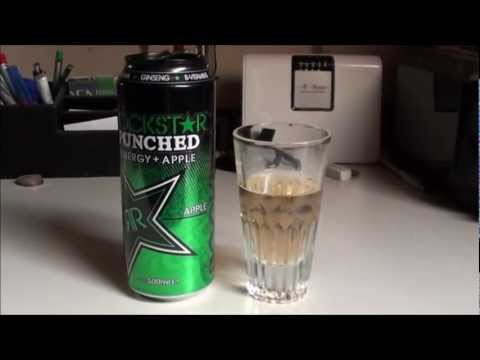 Let's Test Energy! Rockstar Punched Energy + Apple