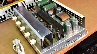 Tesla AZS 021 - STEREO Tube Amplifier - Zesilovač