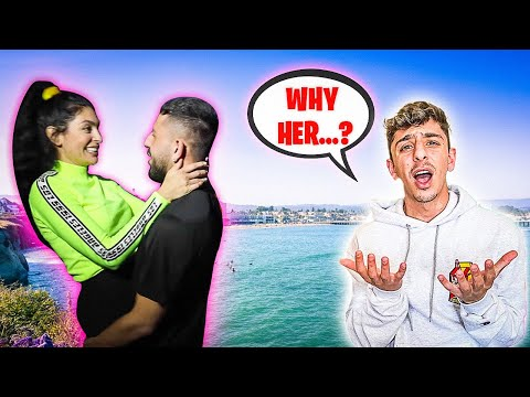 My family reacts to my NEW GIRLFRIEND...