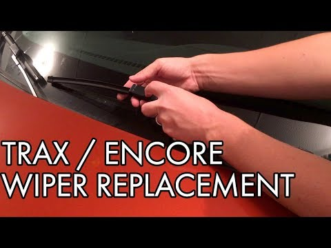Chevy Trax / Buick Encore Windshield Wiper Replacement – DIY How To