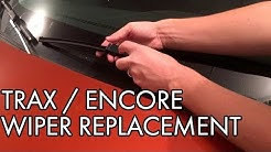 Chevy Trax / Buick Encore Windshield Wiper Replacement - DIY How To