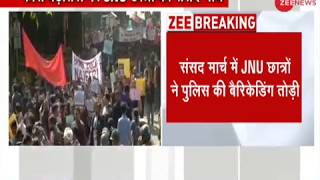 Section 144 imposed nearby JNU, 'Parliament march' begins of JNU Student's union