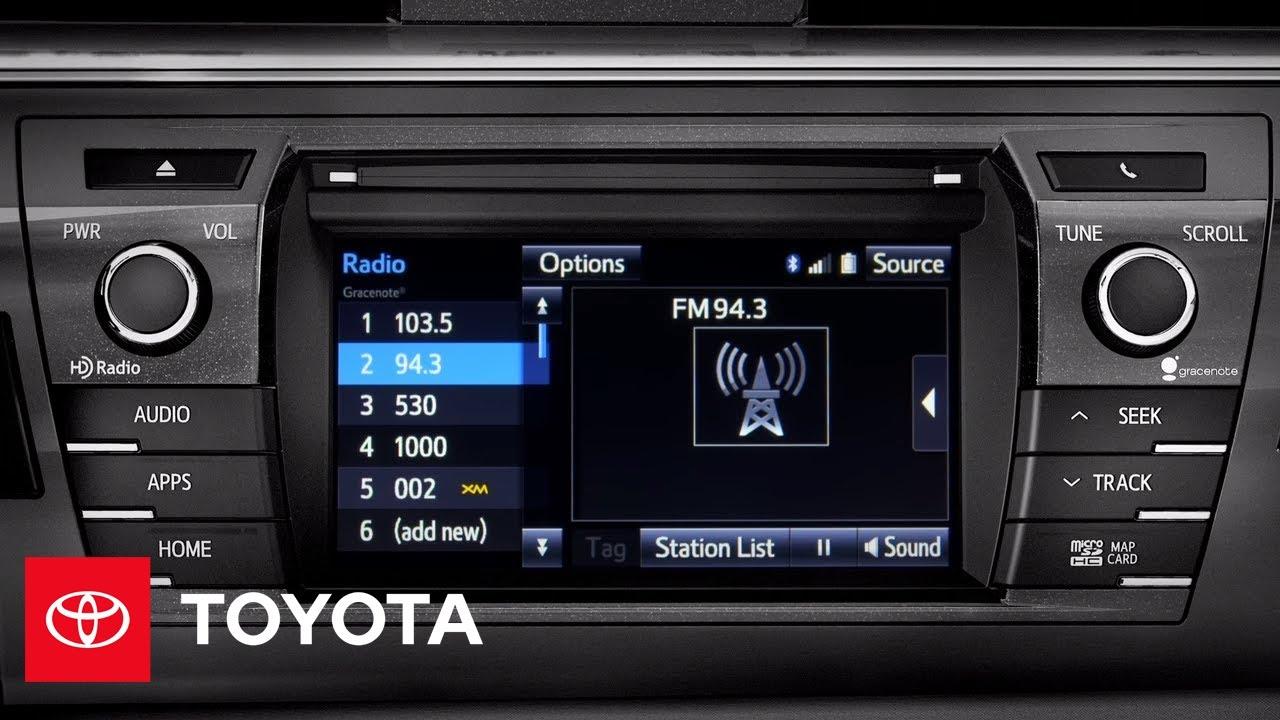 2014 Corolla How-To: Using Cache Radio | Toyota