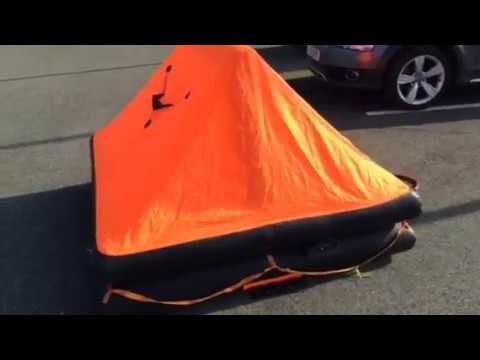 Seago 4 Person Life Raft