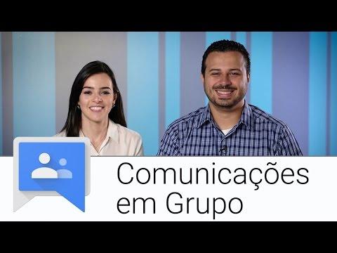 Comunicações em Grupo | Google Grupos | Apps Show Brasil