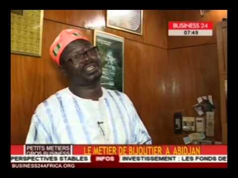Business 24/Petits métiers, gros business   Le métier de bijoutier à Abidjan