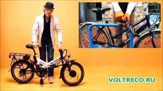 видео Электровелосипед Wellness City Dual 700 купить в Москве