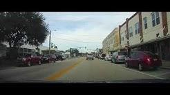 Driving through Frostproof, Florida