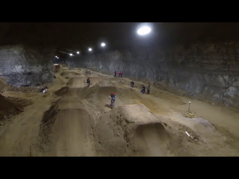 Louisville Mega Caves – America's First Underground Mountain Bike Course