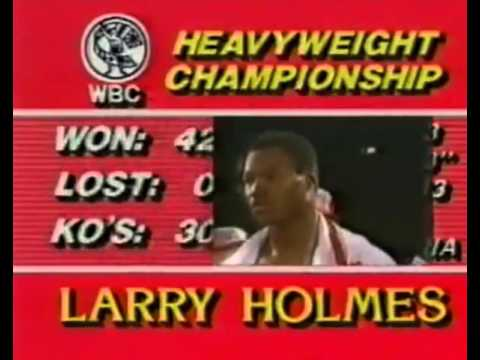 Larry Holmes vs Tim Witherspoon 1983 05 20