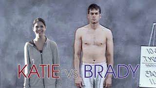 Katie vs. Brady: NFL Combine Drills