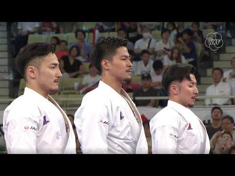 Karate1 Tokyo 2019 - Male Team Kata BRONZE Medal - Japan