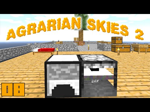 Minecraft Mods Agrarian Skies 2 - AUTOMATIC HAMMERER !!! [E08] (Modded Skyblock)