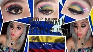 Maquillaje inspirado en la bandera de Venezuela (Petición)
