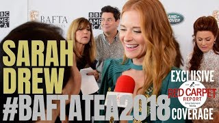 Sarah Drew #GreysAnatomy interviewed at BAFTA's TV Tea Party #BBCAmerica #Emmys70