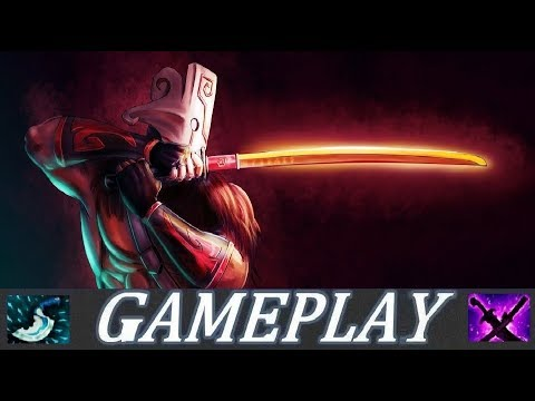 CONTESTED SAFE LANE | Juggernaut Gameplay Commentary Ranked Dota 2