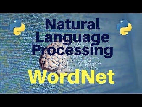 Natural Language Processing in Python: Part 4 -- WordNet