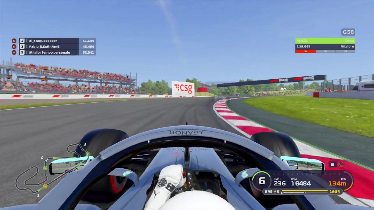 F1 2019 ps4 setup