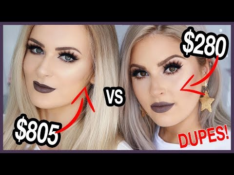 Full Face HIGH END vs DRUGSTORE AFFORDABLE 👀 Dupes ft Sally Jo