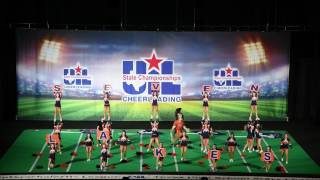 2017 Texas UIL State Spirit Finals - Seven Lakes High School (SLHS) - 720p