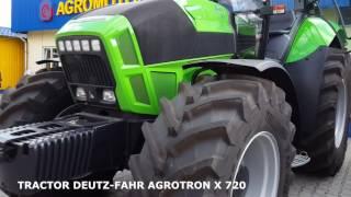 TRACTOR DEUTZ-FAHR AGROTRON X 720