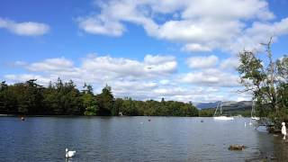 Two Low Flying Lancaster Bombers over Lake Windermere