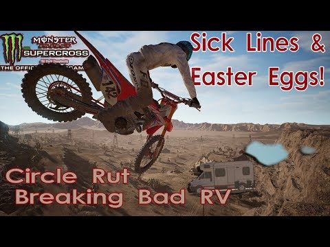 Sick Lines & Easter Eggs On The Compound | Circle Rut & Breaking Bad RV