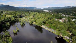 Asheville, NC Camping ~ Eąst Asheville KOA Campground