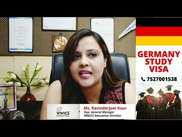 GERMANY STUDY VISA UPDATE