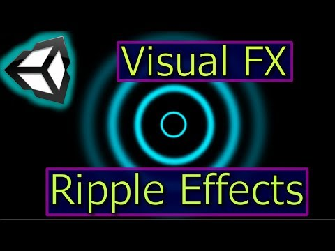 Ripple Effects   Unity Particle Effects   Visual FX Tutorial
