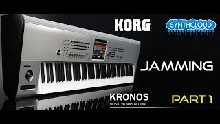 Korg Kronos Demo part 1: Piano, Pads, Strings - performed by S4K Team Alex DD ( space4keys )