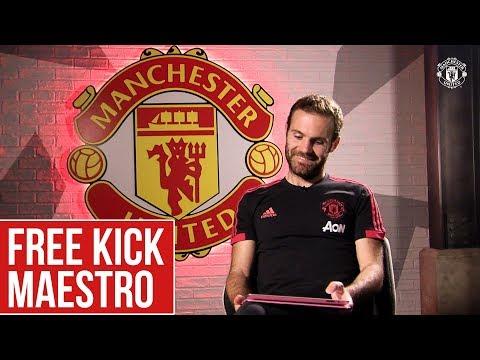 Juan Mata: Free Kick Maestro! | Manchester United