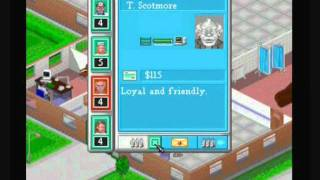 Theme Hospital PS1 (GamePlay)