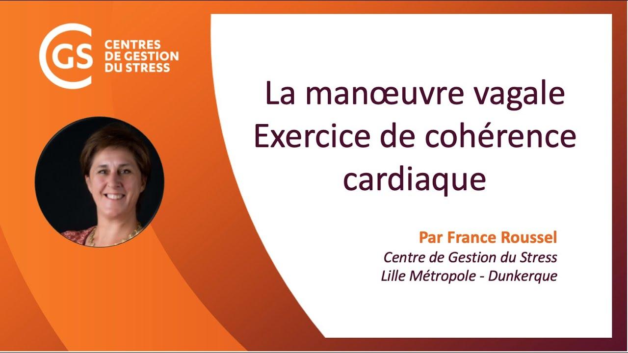 La manœuvre vagale : exercice de cohérence cardiaque