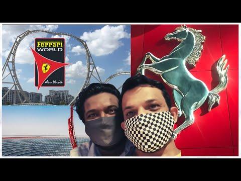Ferrari world Abu Dhabi (TULU VLOG)