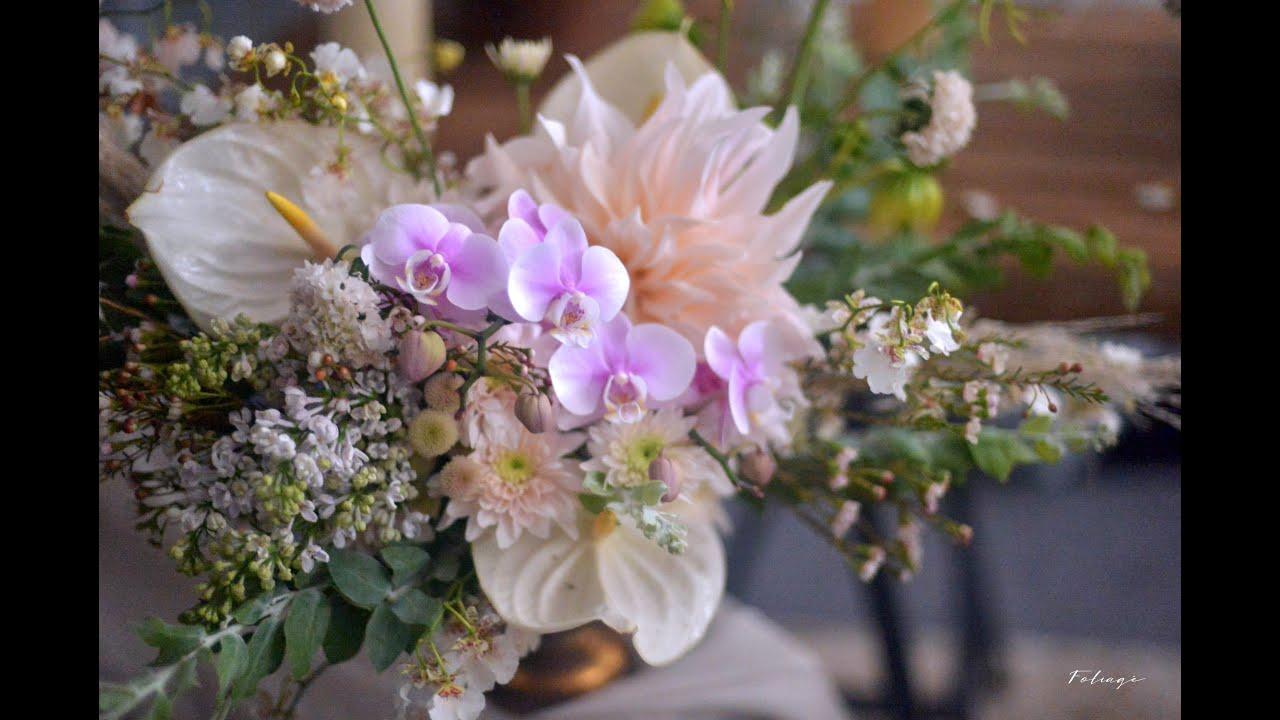 終極篇 [Florist Course] 花藝師課 Wk7 歐式檯花