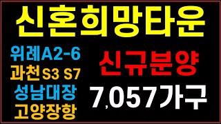 신혼희망타운 올해 7,057가구 신규분양 #위례 #과천…