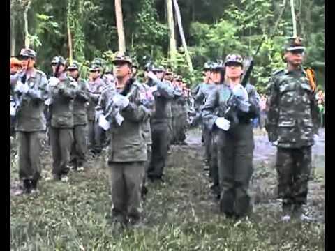 Gas pipeline in southern Burma