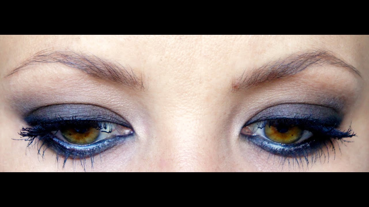 Maquillage Smokey Marron Yeux Ambr Pour D Butante L Clairette Sweety Youtube