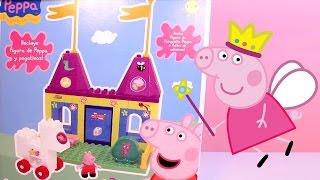 Peppa Pig Castle Building Blocks Construcciones Peppa Pig Castillo Princesas Princess Peppa Pig Toy