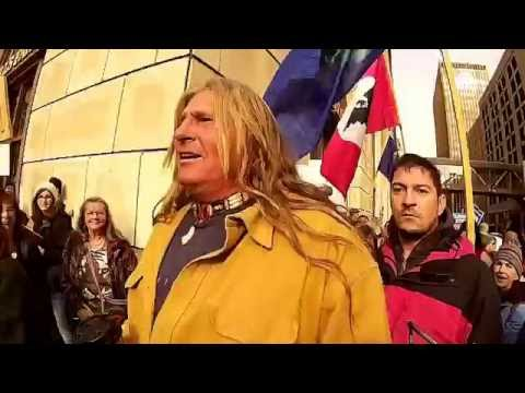 """Milwaukee #NoDAPL Day of Action""  Milwaukee, WI 11/15/2016"