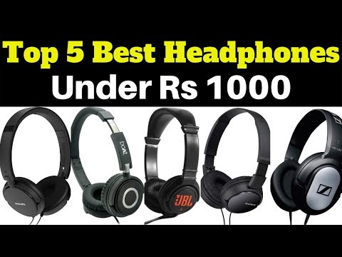 Top 5 Best Headphones Under Rs 1000 In 2019 | Best Over The Ear & On The Ear Headphones 2019