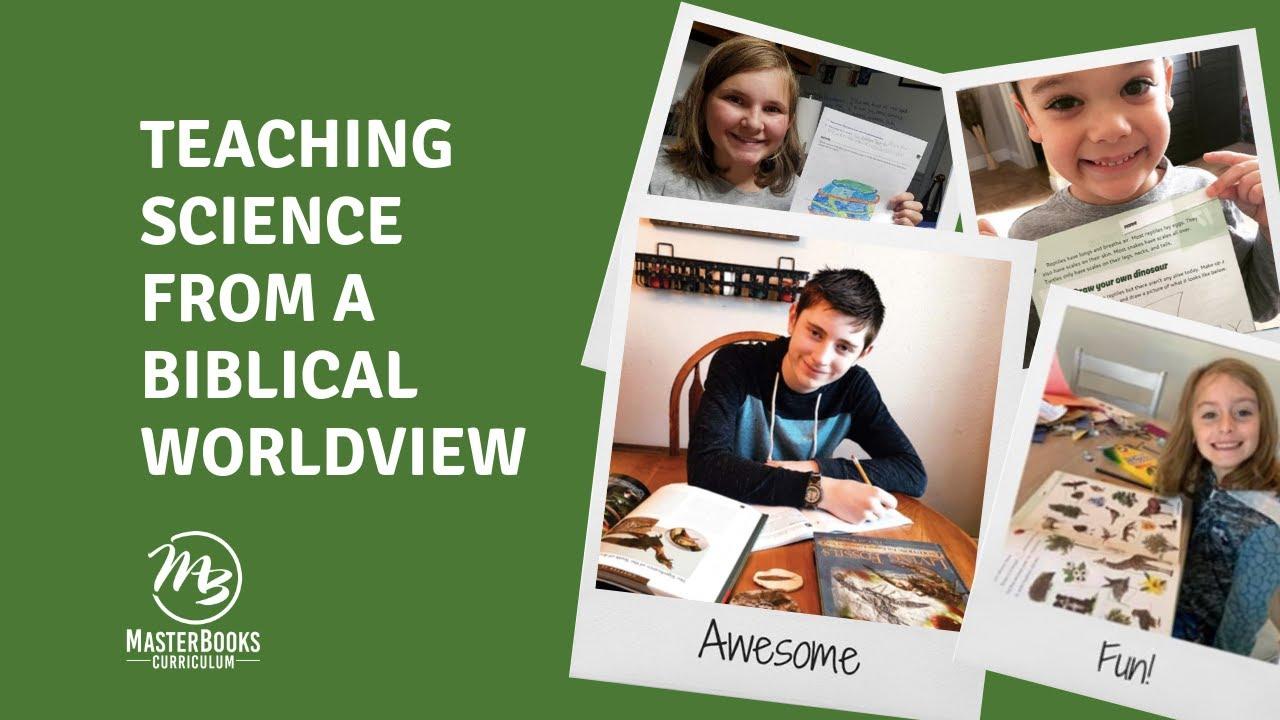 Teaching Science from a Biblical Worldview // Master Books Homeschool  Curriculum