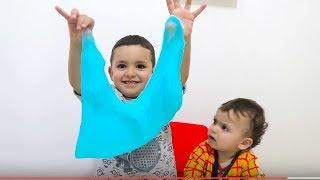 little boy makes slime ,funny kids videos ,kids boys