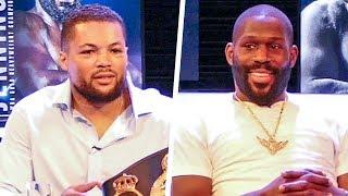 Joe Joyce vs. Bryant Jennings FULL FINAL PRESS CONFERENCE | Heavy Duty | Frank Warren Boxing