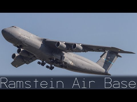 USAF | Ramstein Air Base | Plane Spotting | C-5 / C-17 / KC-10 / C-130J